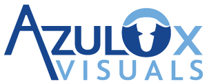 AzulOx Visuals Logo