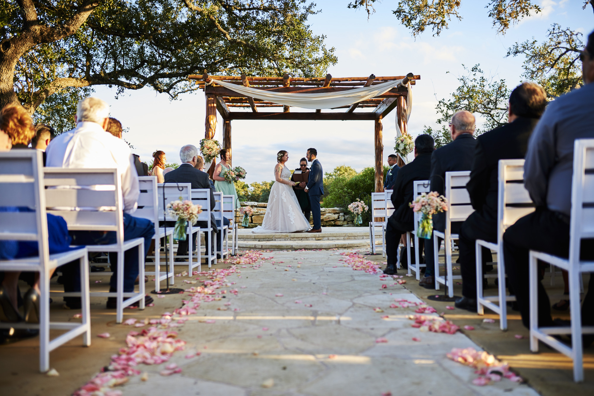 Ceremony, Wedding, Memory Lane, Dripping Springs